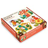 Petit Collage Beginner Jigsaw Floor Puzzle, Fairy Friends