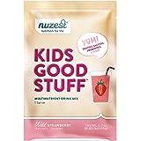 Nuzest Kids Good Stuff - Multivitamin Drink, Wild Strawberry, 1 Serving, 15g