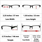 Black Computer Reading Glasses 1.00 Protect Your