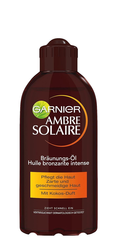Garnier Ambre Solaire Delial Tiefbraun Bräunungsöl, 200 ml