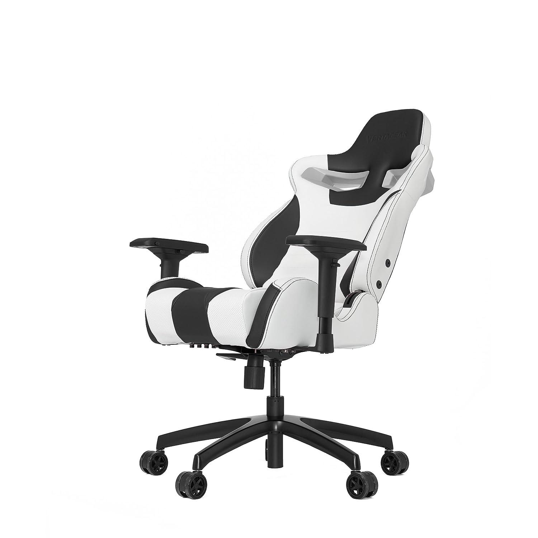 Amazon.com: VERTAGEAR S-Line 4000 Gaming Chair Medium White/Black: Home & Kitchen