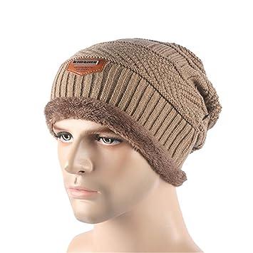 2593bd00312d8 Gome-z Beanies Knit Men's Winter Hat Caps Skullies Bonnet Winter Hats For Men  Women