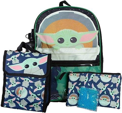 "Amazon.com | Kids Mandalorian""The Child"" Backpack and Lunch Box Set | Kids"