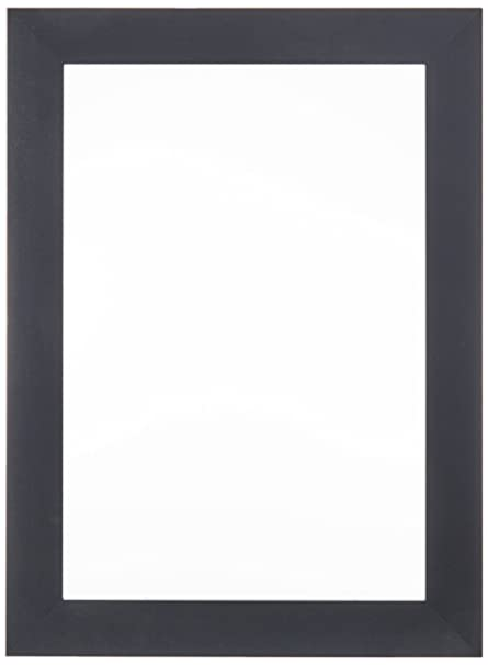 Amazon.com - ArtToFrames 13x19 inch Satin Black Picture Frame ...