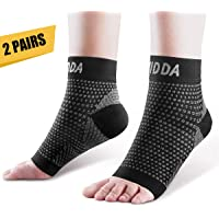 AVIDDA Plantar Fasciitis Socks with Heels Arch Supports, Compression Sleeves Ideal for Arthritis Pain Relief and Suitable for Sports, Ankle Supports for Men and Women