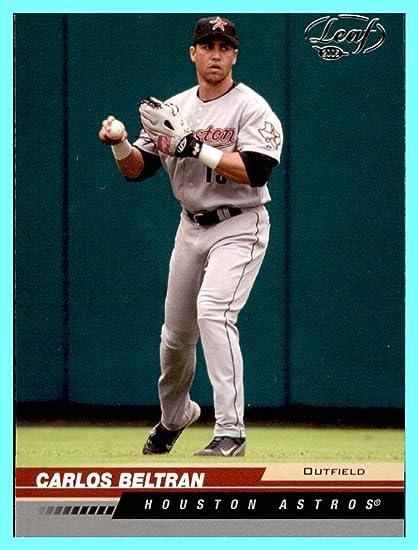 2005 Leaf 86 Carlos Beltran Houston Astros At Amazon S