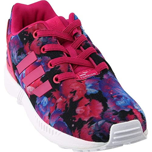c8a83536e1a adidas Originals Kids Baby Girl's ZX Flux (Toddler) Bold Pink/Bold Pink/