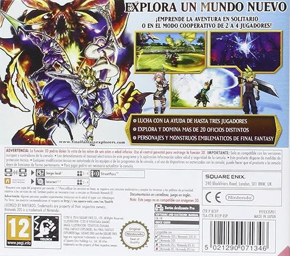 Final Fantasy Explorers: Amazon.es: Videojuegos