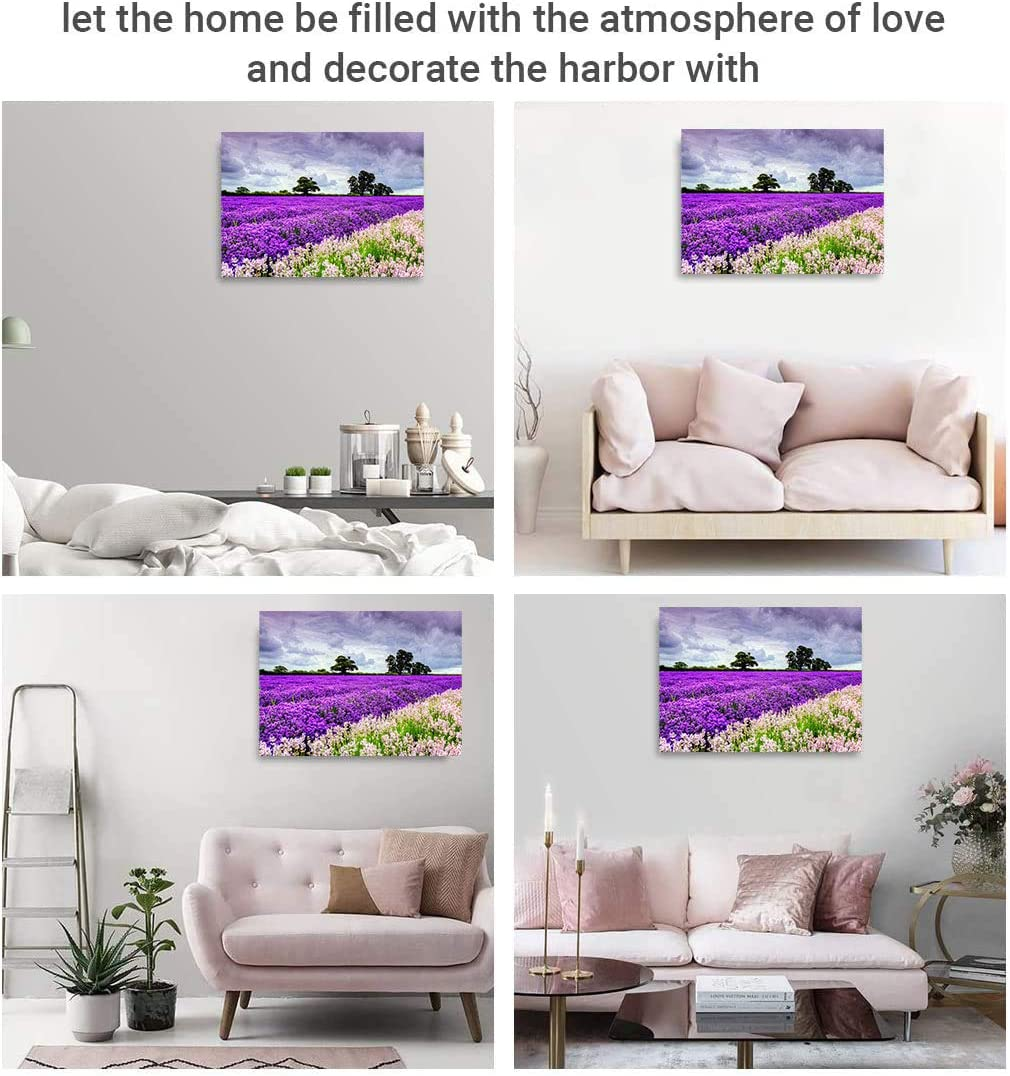 1000 Piece Jigsaw Puzzles for Kids Adults Indoor Home Educational Intellectual Decompressing Fun Games Lavender Puzzles