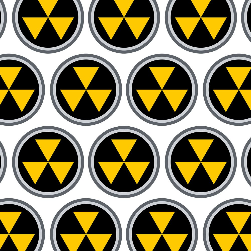 Premium Gift Wrap Wrapping Paper Roll Symbols Fallout Shelter