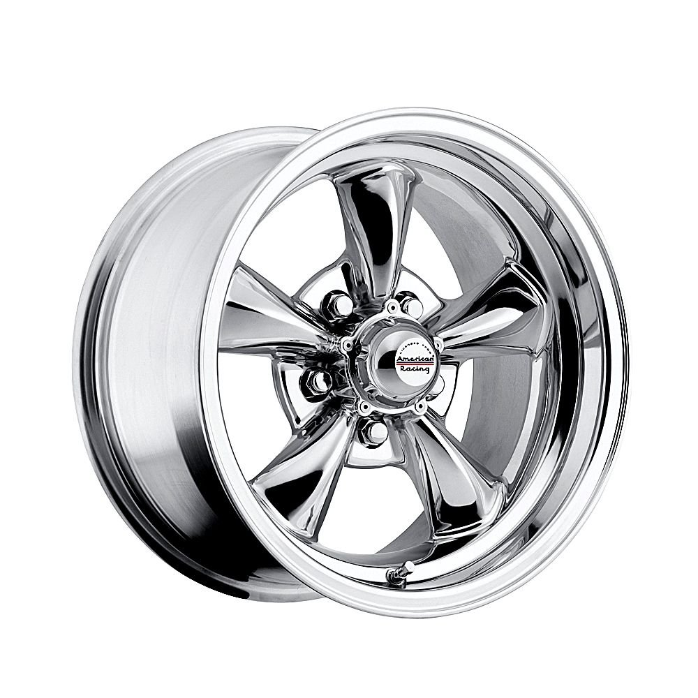 15 inch 15x8 100 c classic series chrome aluminum wheels rims licensed from american racing 5x4 50 ford lug pattern 0 offset 4 50 backspacing set of