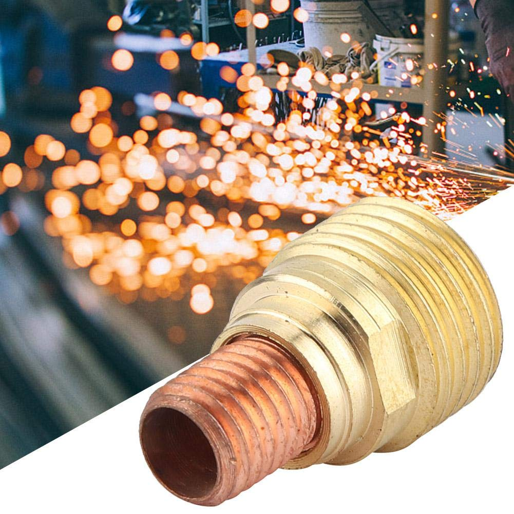 45V44 Gas Lens Collet Body Welding equipment2.4mm3//32 for TIG Welding Torch WP-9//20//25 5PCS
