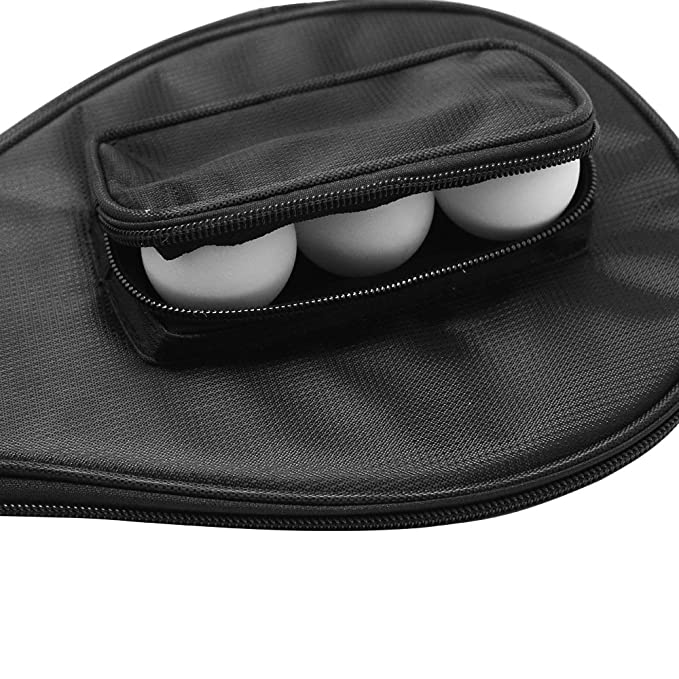 Amazon.com   SelfTek Table Tennis Bat Bag Waterproof Ping Pong Paddle Bat  Pouch with Ball Case   Sports   Outdoors 0371f77aea260