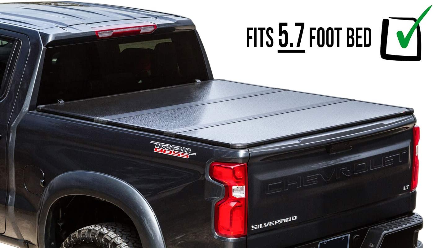RDJ Trucks Travel-PRO 65-Series Hard Tonneau - Solid Folding Bed Cover (2017-2020 Nissan Titan)
