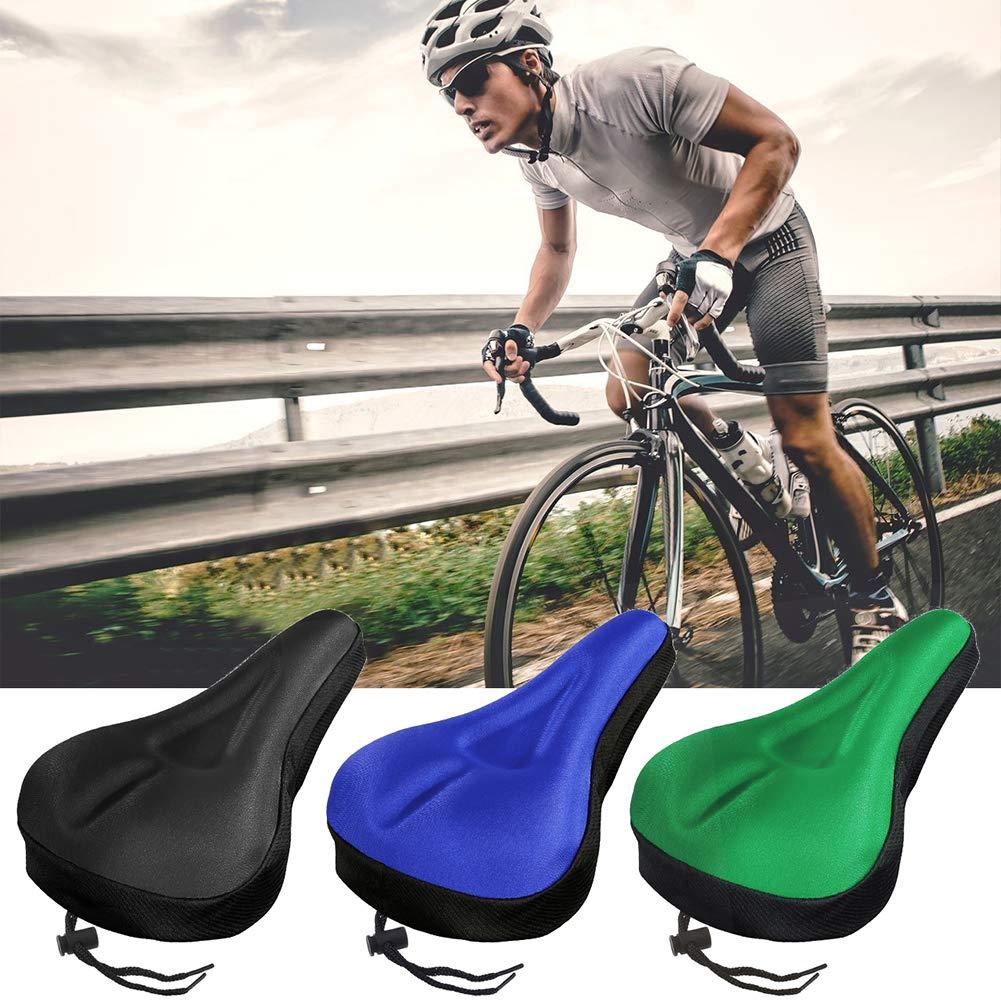 ZqiroLt Coprisedile in Sella per Bicicletta Imbottitura in Silicone Morbido per Bici