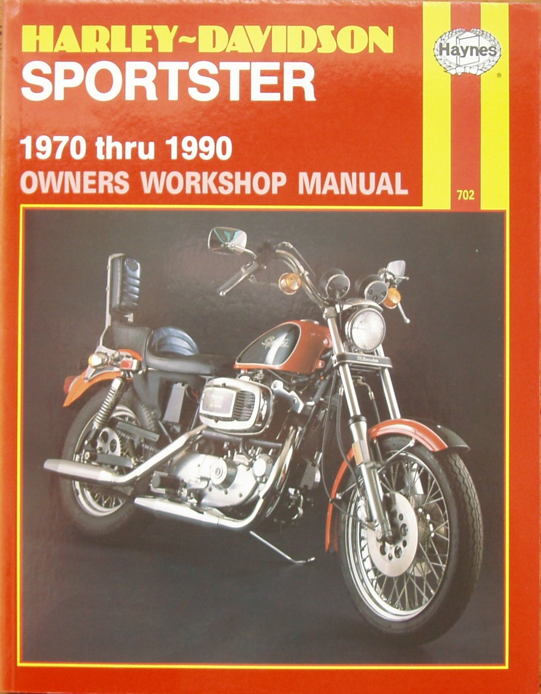 Harley-Davidson Sportster Owners Workshop Manual (Haynes motorcycle repair  manual series): J. H. Haynes, Tom Schauwecker, Curt Choate: 9781850105985:  ...