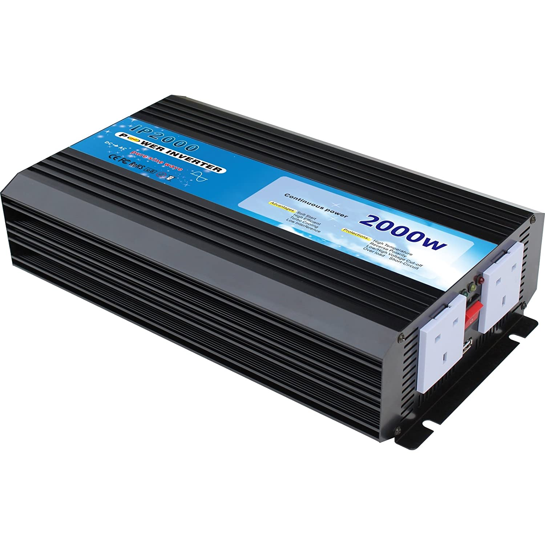 2000w 12v Pure Sine Wave Power Inverter To Convert Parallel Circuit Advantages Electronics