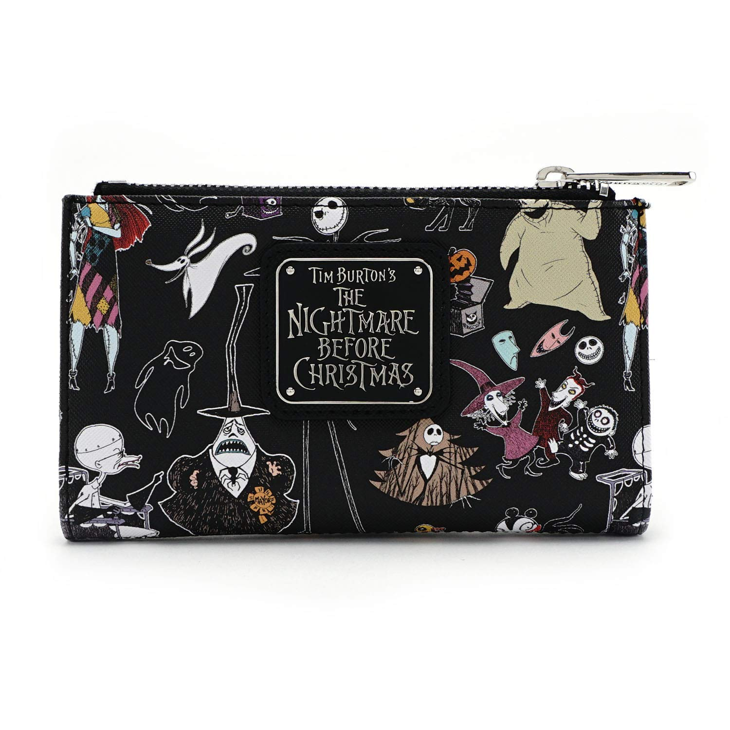c8db8aca6b52 Loungefly x The Nightmare Before Christmas Character Bi-Fold Wallet product  image