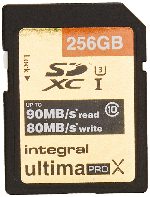 Integral UltimaPro X - Tarjeta de Memoria de 256 GB (Clase ...