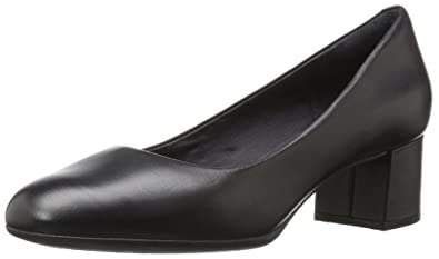 Rockport Women's Total Motion Novalie Dress Pump, Black Leather, ...