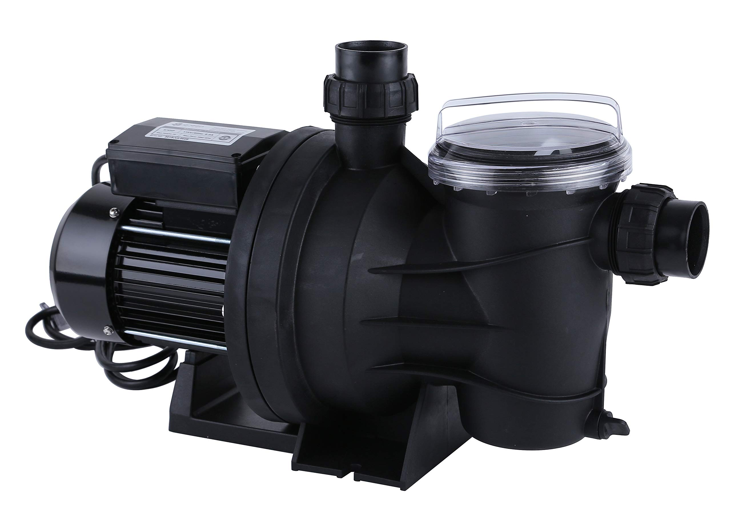 Green Expert 3/4HP Pool Pump with Clean Cartridge Filter High Flow Max 3962GPH for Above Ground Pools, 115V, Single Speed by G GREEN EXPERT