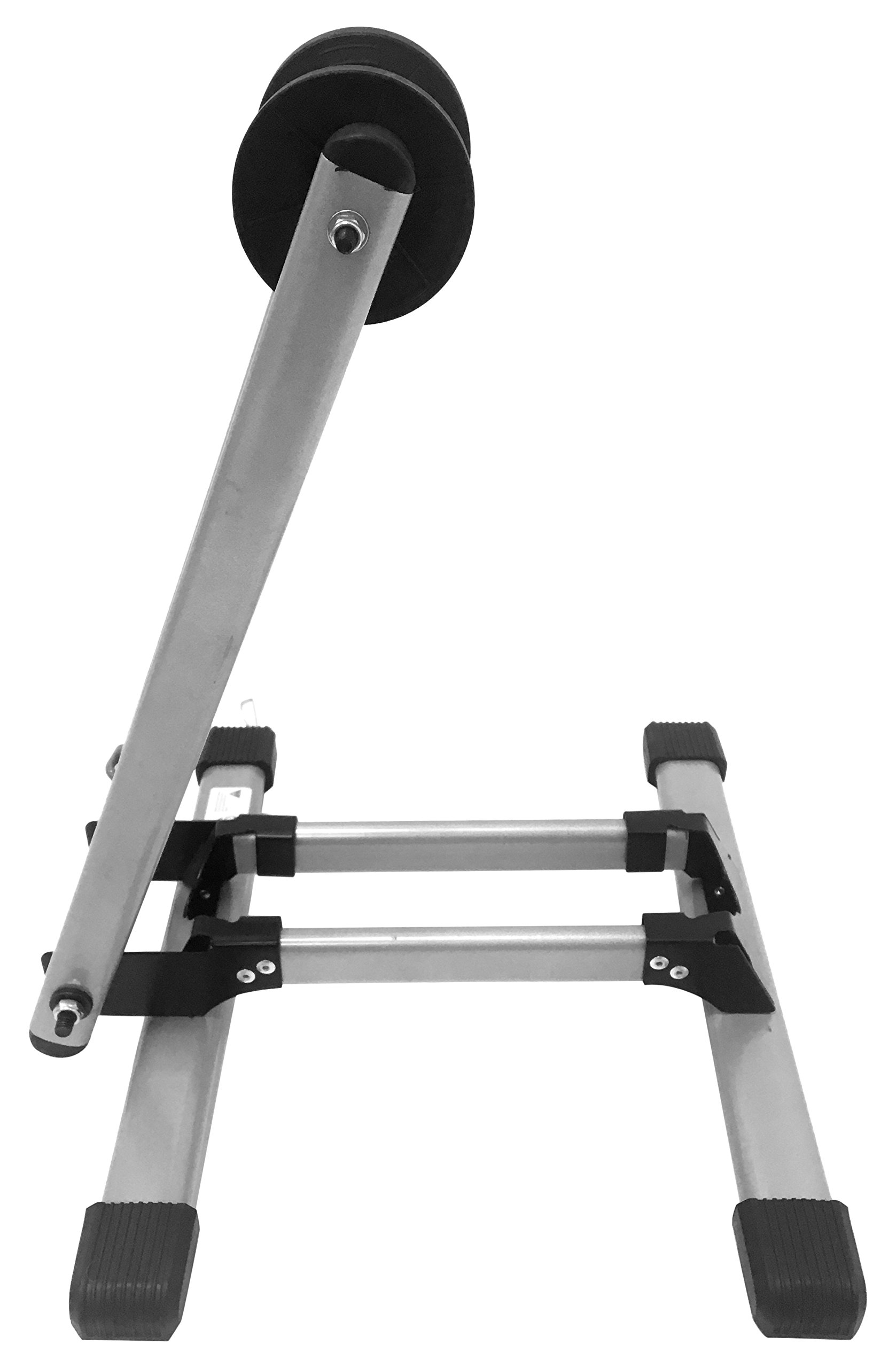 MaxxHaul 80717 Foldable Floor Bike Stand Fits 20''-29'' Sports Bicycles