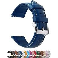 Fullmosa Axus Correa Piel, 12 Colores para Correa Reloj, Huawei Samsung Correa/Banda/Pulsera/Strap 14mm 16mm 18mm 19mm…