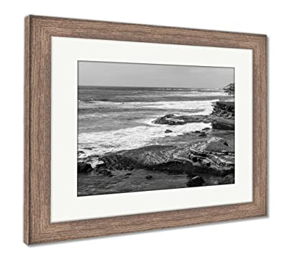 Amazon.com: Ashley Framed Prints Eroded Rock Formations At The Point ...