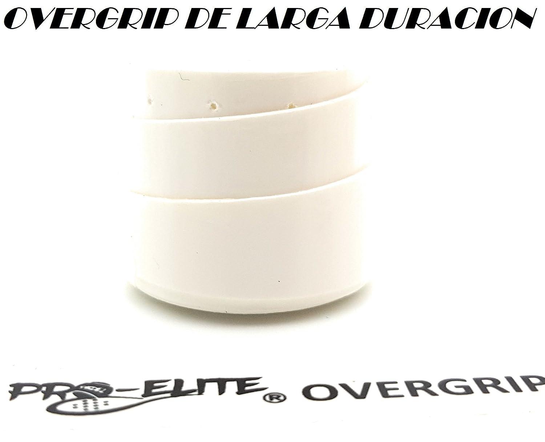 overgrip Pro Elite Premium Perforado Blanco: Amazon.es: Deportes y aire libre