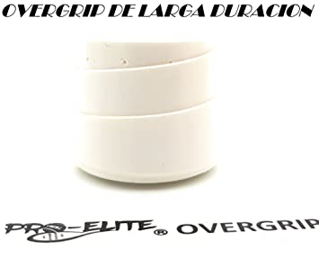 overgrip Pro Elite Premium Perforado Blanco: Amazon.es ...