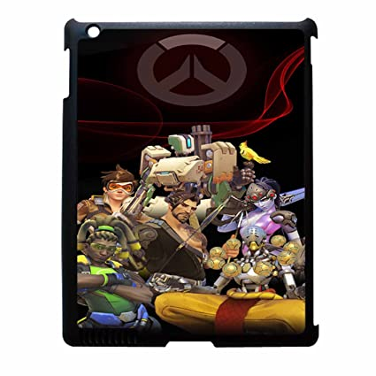 Overwatch Wallpaper Hulle Handy Zubehoripad 2 3 4 Amazon De Elektronik