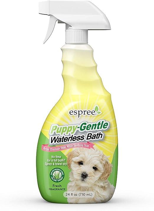 Espree Puppy-Gentle Waterless Bath - Best Dry Shampoo for Puppies