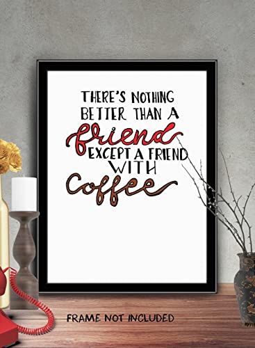 "Amazon.com: Wall Decor ""There\'s Nothing Better Than A Friend ..."