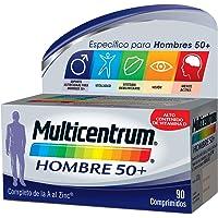 Multicentrum Hombre 50+, Complemento Alimenticio con 13 Vitaminas y 11 Minerales,…