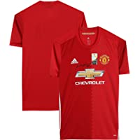 $289 » Wayne Rooney Manchester United F.C. Autographed Red Adidas Authentic Jersey - Autographed Soccer Jerseys