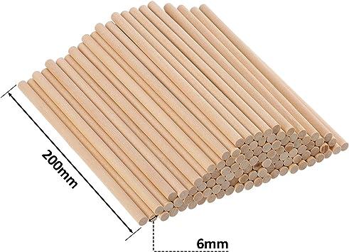 Palos Algodón de Azúcar. Largo XL=20 cm. y el grosor como un lápiz. Pack de 100.: Amazon.es: Electrónica