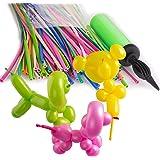 ZeWoo Luftballon Bunt für Party Hochzeit Geburtstag Dekoration + Pumpe (Zufällige Farbe) (Long, Multi-color)