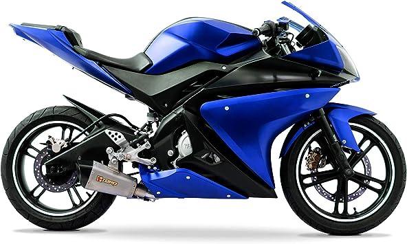 Yamaha Yzf R125 08 13 Vollverkleidungsset 20 Stück Blau Schwarz Auto