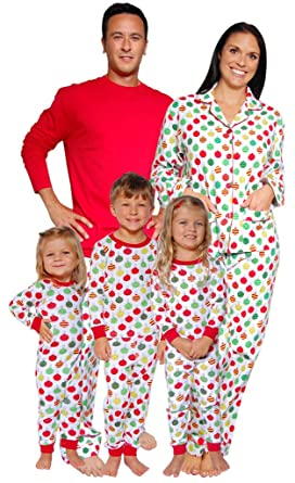 SleepytimePjs Christmas Family Matching Pyjamas (Ornaments, Doll ...