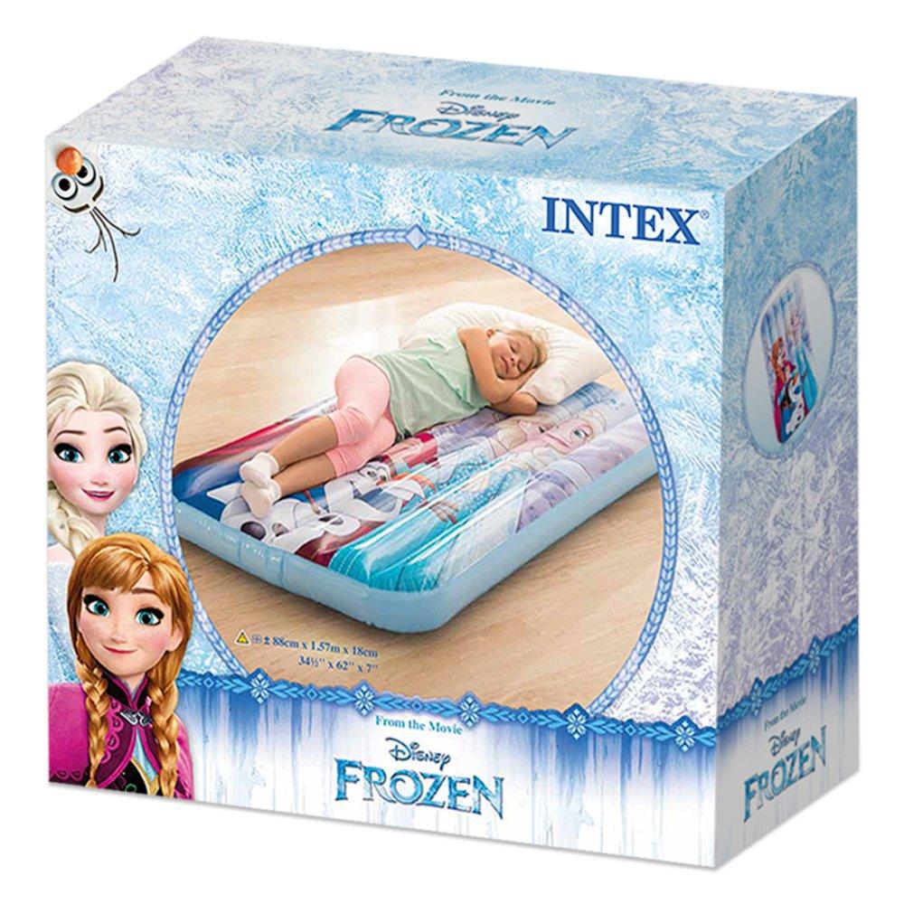 Intex 48776NP - Cama de aire infantil Frozen 88 x 157 x 18 cm: Amazon.es: Juguetes y juegos