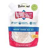 Redmond Real Sea Salt - Natural Unrefined Gluten Free Kosher, 16 Ounce Pouch (1 Pack)