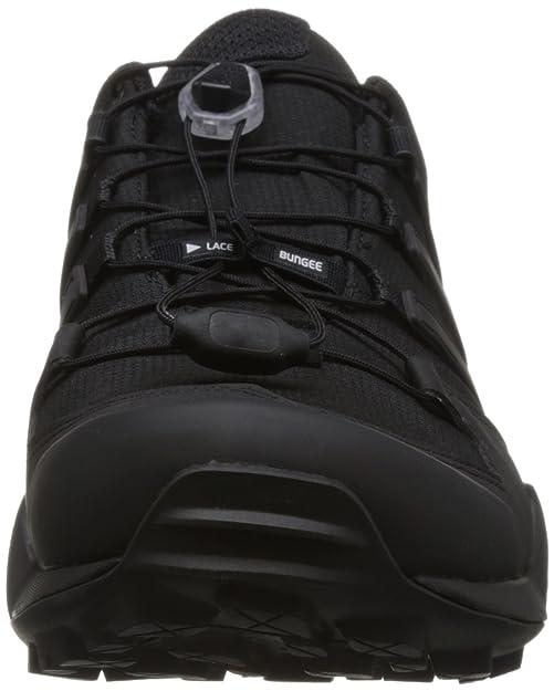 Vue du système de laçage de l'Adidas Terrex Swift R2