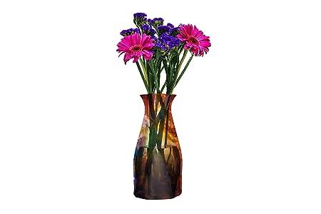 Amazon Vazu Collapsible Flower Vase Groove Maker Vazu Vases