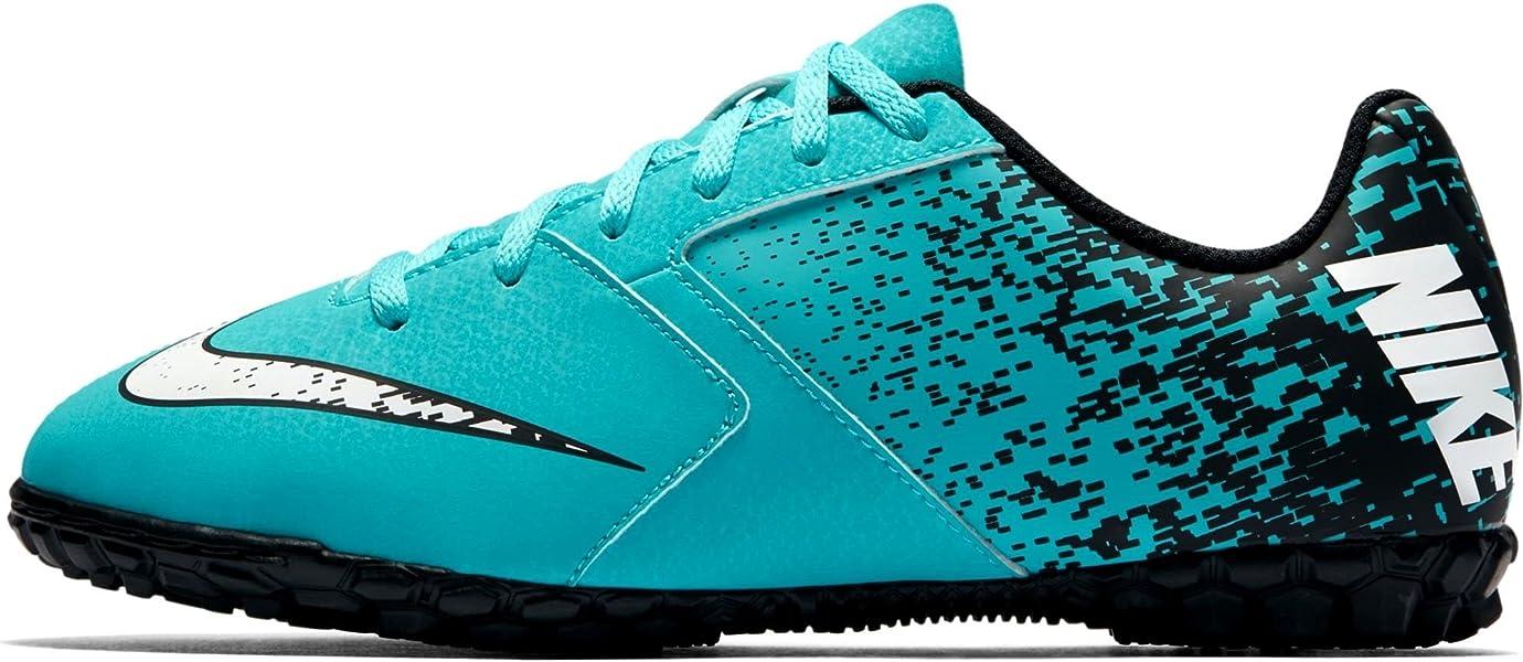 6684b4b6a7fde Amazon.com | Nike Jr Bomba Tf Boys Big Kids 826488-410 Size 1 | Soccer