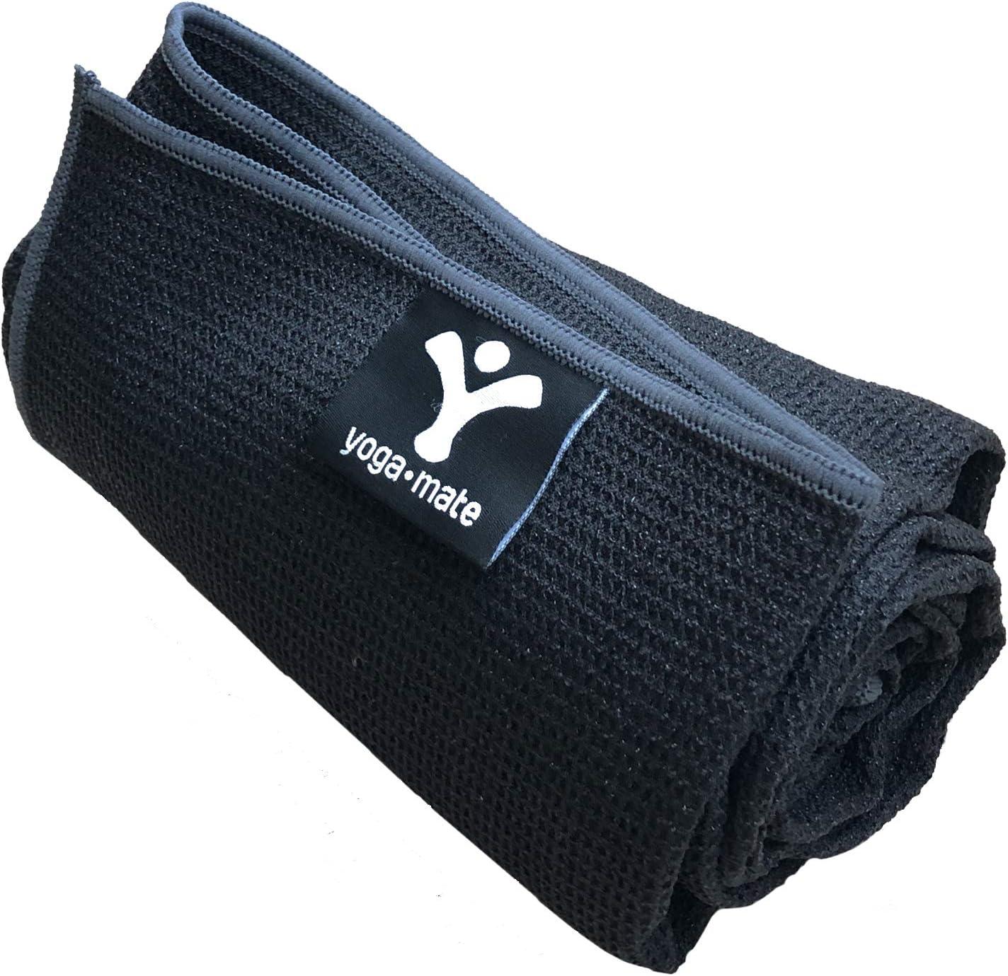 Amazon.com : Sticky Grip Yoga Towel - Best Non-Slip Towel ...