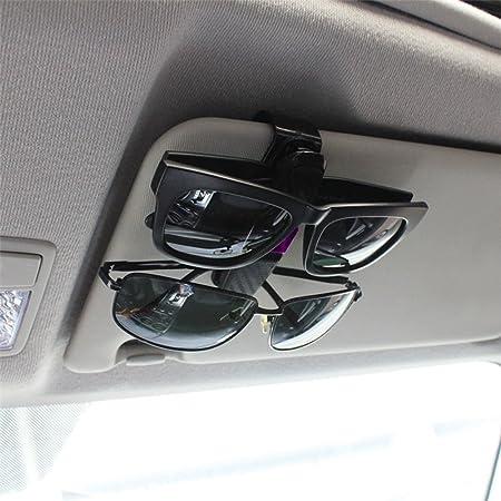 Brillenhalter Für Auto Sonnenblende Ihrkleid Sonnenbrillen Brillen Mit Kartenkarten Clipuniversal Auto Sonnenblende Klipp Brillen Halter Clip Für Sonnenbrille Tickets Karte 180 Drehung Violett Auto