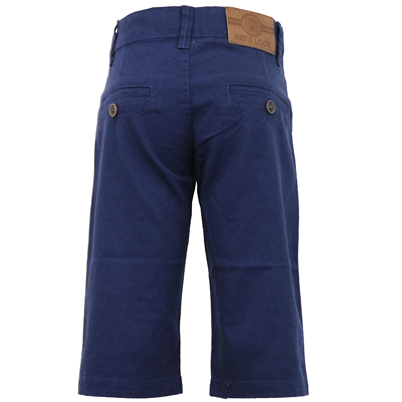 Boys Kids 3 Quarter Chino Cotton Shorts