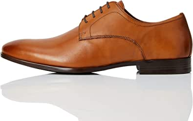 Marca Amazon - find. Fidel - Zapatos de cordones derby Hombre