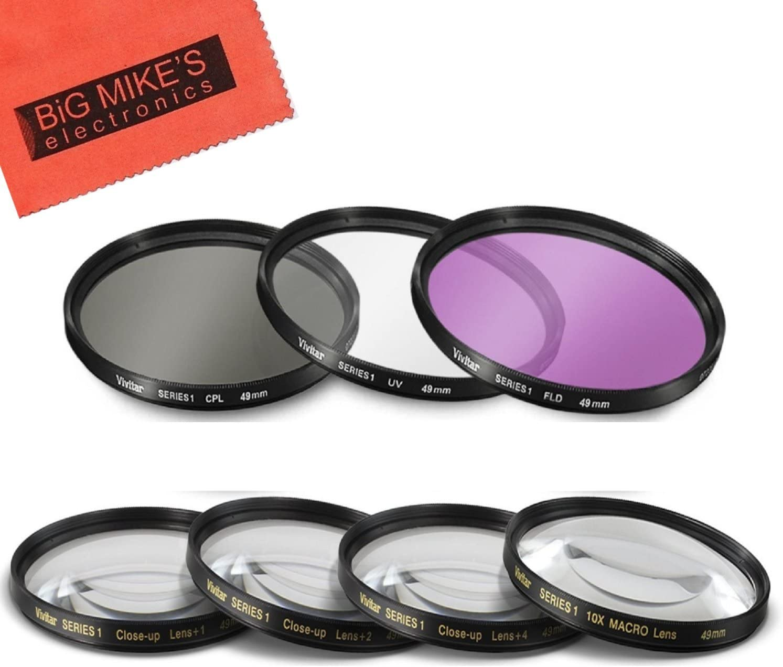 Maxsimafoto 58mm PRO MC UV filter protector fits Canon EF 50mm f1.4 USM Lens