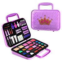 Toysical Kids Makeup Kit for Girls - Tween Makeup Set for Girls, Non Toxic, Play Girls Makeup Kit for Kids - Top Birthday for Ages 5, 6, 7, 8, 9, 10 Year Old Children (Large)
